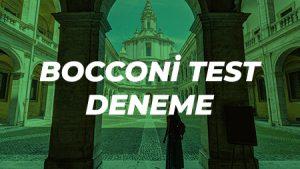Bocconi Test Deneme Sınavı