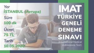 Türkiye Geneli IMAT Deneme Sınavı